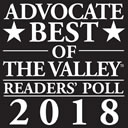 The Valley Readers Poll 2018 1st Place